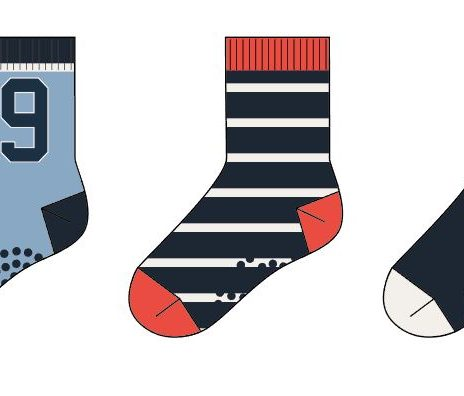 NMMFAVYUKI  TERRY SOCK