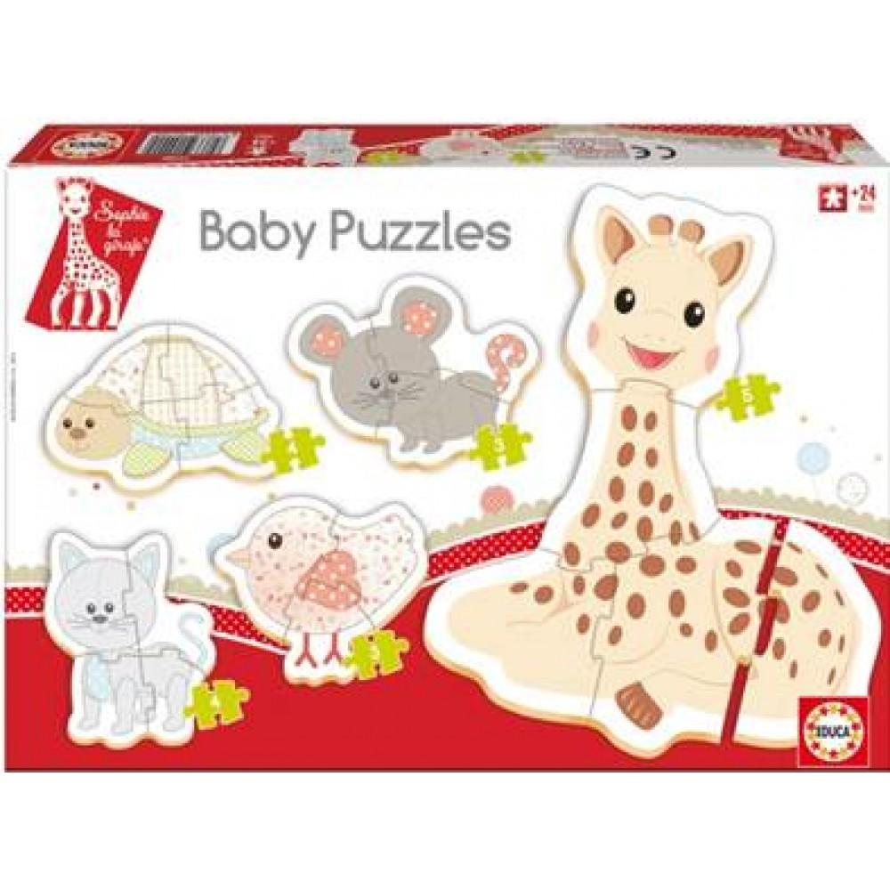 SOPHIE LA GIRAFE BABY PUZZLES