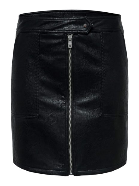 ONLERICA FAUX LEATHER SKIRT