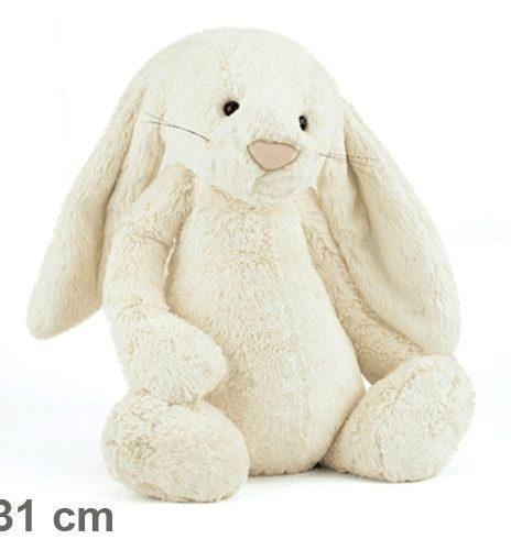 Kanin creme 31 cm