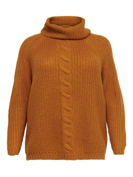 CARLANIA ROLL NECK STRIKKEGENSER