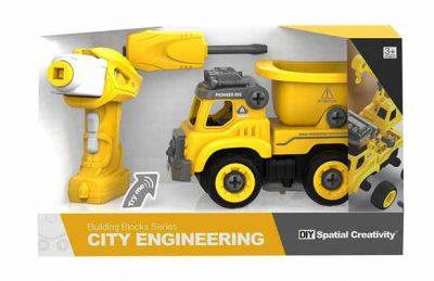 CITY ENGINEERING – DIY LASTEBIL M/SKRUMASKIN OG R/C (21CM)