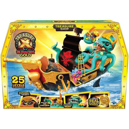 TRESURE X-SUNKEN GOLD - SHIPWRECK PLAYSET