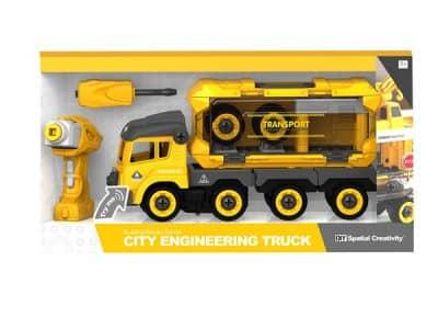 CITY ENGINEERING – DIY TRAILER M/SKRUMASKIN OG R/C (35CM)