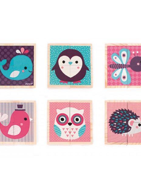 Janod - My First Blocks- Baby Animals