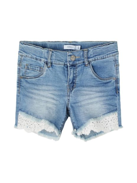 NKFSALLI DENIM SHORTS