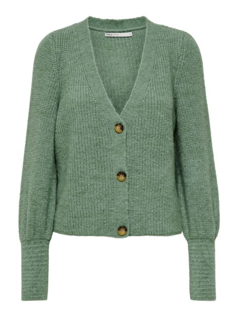 ONCARE L/S CARDIGAN KNIT NOOS