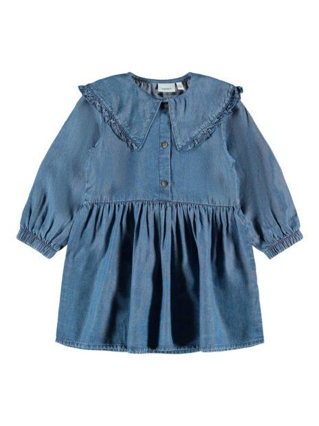 NKFNASSANNE LS COLLAR DRESS