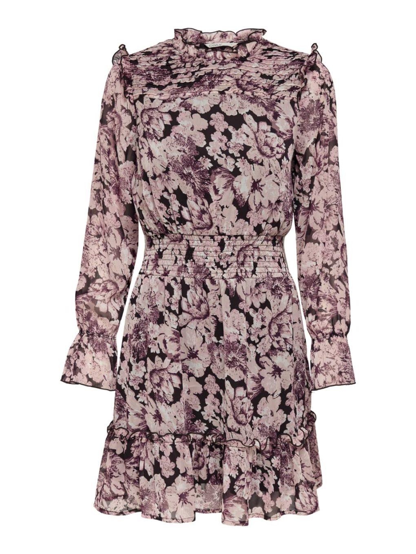 ONLSKYE L/S SMOCK DRESS WVN